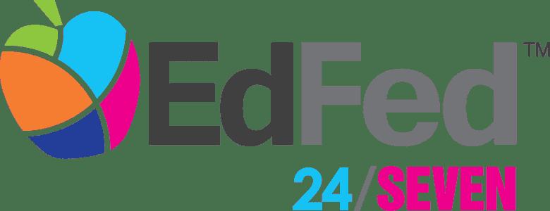 EdFed 24/SEVEN logo
